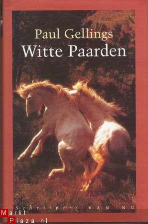 Witte paarden